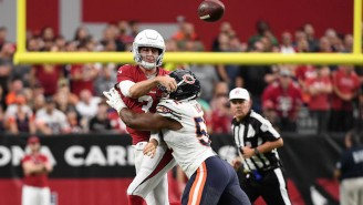 The Cardinals Threw Rookie Josh Rosen Into The Fire Late Against The Bears