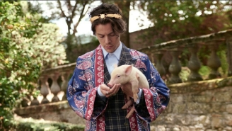 Harry Styles (And Some Baby Farm Animals) Star In Gucci's Newest Campaign