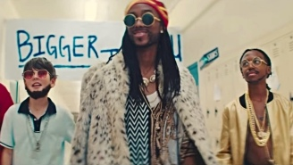 2 Chainz, Drake, Murda Beatz, And Quavo Are The Big Men On Campus In The 'Bigger Than You' Video