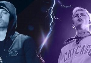 Who Won The First Round Of The Eminem Vs. Machine Gun Kelly Beef?