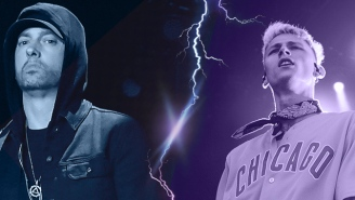 Who Won The First Round Of The Eminem Vs. Machine Gun Kelly Beef?
