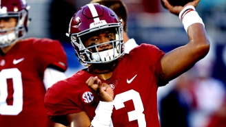 Heisman Watch 2018, Week 2: Oh No, Alabama Might Not Have A Quarterback Controversy