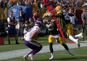 Kirk Cousins Made A Miraculous Throw To Send Packers-Vikings To OT, Leading To Another NFL Tie
