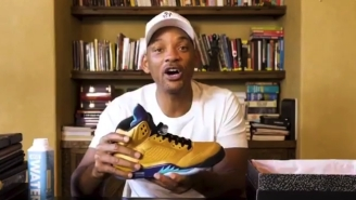 Will Smith Created A Sneaker Instagram Account To Unveil His New 'Fresh Prince' Jordan 5s