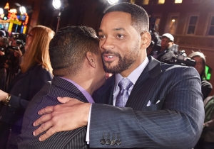 Will Smith Had A Reunion With His 'Favorite' 'Fresh Prince Of Bel-Air' Co-Star