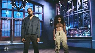 Kanye West Turned His SNL Performance Into A GOOD Music Showcase With Teyana Taylor, Kid Cudi, And 070 Shake