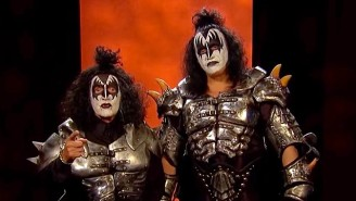 Alex Trebek Is Unrecognizable As Gene Simmons For The 'Jeopardy!' Halloween Episode