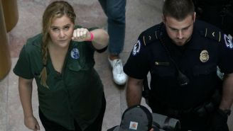 Amy Schumer Was Detained At A Rally Protesting Brett Kavanaugh's Supreme Court Nomination