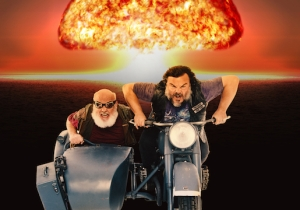Tenacious D's Jack Black And Kyle Gass Discuss The Patriotic Duty Of Their New Film, 'Post-Apocalypto'