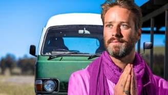 Armie Hammer Really Wants To Own A Minivan, So Let's Put Armie Hammer In Minivan TODAY