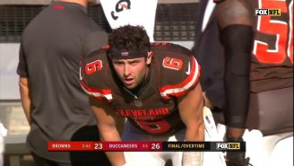 The Browns Lost Another Overtime Game On A 59-Yard Bucs Field Goal