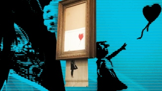 Banksy's Shredded Painting Is The 'Good Mischief' We Need More Of