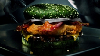 Burger King's Halloween Burger Is The Stuff Of Nightmares. Literally.