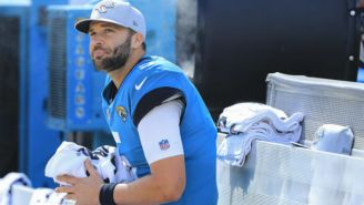 Some 'The Good Place' Fans Thought Blake Bortles Was A Fake Jaguars Quarterback