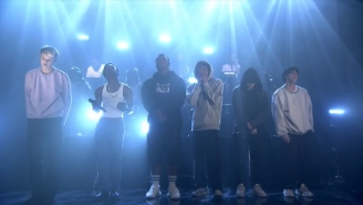 Brockhampton Return To 'The Tonight Show' For A High-Octane Performance Of 'District'