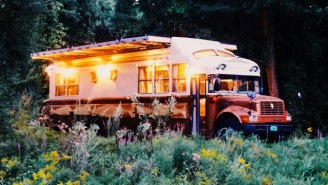 This Modified Bus Combines Your Design Dreams And Drifter Fantasies
