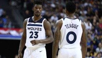 Jimmy Butler Confirmed The Wolves Had A Players Only Meeting, But Jeff Teague And Others Deny It