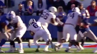College Football Now Has Its Own True Butt Fumble Thanks To TCU-Kansas
