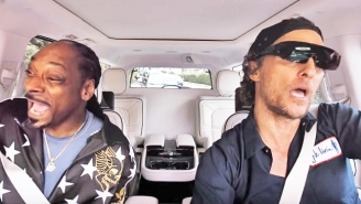 Snoop Dogg And Matthew McConaughey Sing A Duet In The 'Carpool Karaoke' Season 2 Trailer