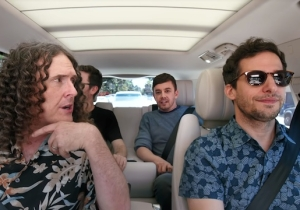 'Weird Al' And The Lonely Island's 'Carpool Karaoke' Episode Is A Meeting Of Comedy Music Legends