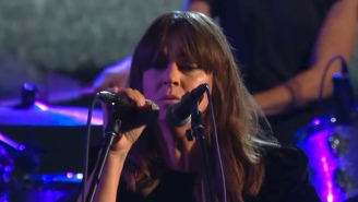 Cat Power Brings The Lush Blues Of 'Woman' To 'The Late Show'