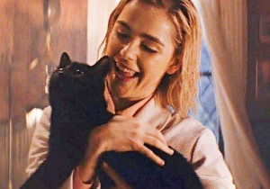 The 'Chilling Adventures Of Sabrina' Series Creator Has Clarified Why Salem The Cat Hasn't Spoken (Yet)