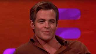 Chris Pine Has Seen Your Tweets About His 'Outlaw King' Penis Scene
