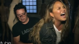 Chrissy Teigen Nearly Died Laughing In A Haunted House With Ellen's Producer