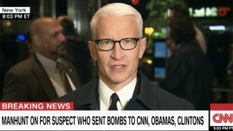 Anderson Cooper Delivers A Fiery Rebuttal To Trump Over His Remarks Following CNN's Bomb Scare