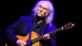 Rock Legend David Crosby Sounds Off On Why He's More Creative Than Ever