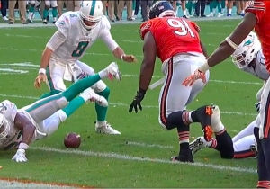 The Dolphins Beat The Bears In An Insane Game Despite Fumbling On The Goal Line In Overtime