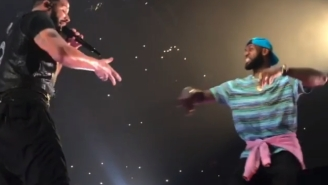 LeBron James Surprised The LA Crowd By Joining Drake And Travis Scott For 'Sicko Mode'