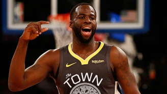 Draymond Green Couldn't Help But Troll The Cavs Before Their Game On Wednesday