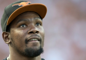 Kevin Durant Used His Social Media Powers For Good To Take A Victory Lap After Texas Beat Oklahoma