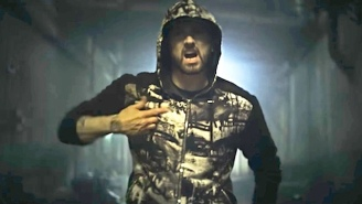 Eminem Is A Body-Hopping Parasite In His Spooky Video For 'Venom'