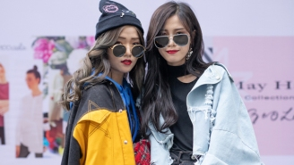 All The Best Street Style From Shanghai's Fashion Week 2018