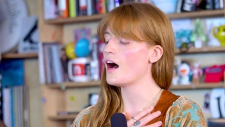 Florence And The Machine Bring Their Huge Songs To An Intimate Tiny Desk Performance