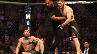 Chaos Erupted Following Khabib Nurmagomedov's Win Over Conor McGregor At UFC 229