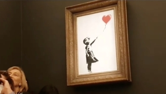 Banksy's 'Girl With Balloon' Is Likely Worth Even More Now That It's Shredded