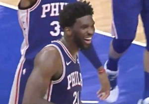 Joel Embiid Baited Andre Drummond Into Getting Ejected With A Blatant Flop
