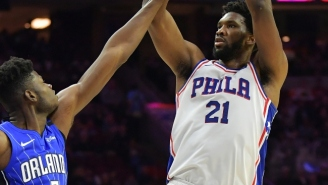 The Sixers Played 'Mo Bamba' By Sheck Wes After Joel Embiid Clowned The Magic Rookie