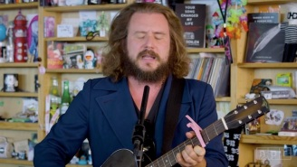 Guitar Virtuoso Jim James Of My Morning Jacket Brings Protest Song Vibes To A Soothing Tiny Desk Show