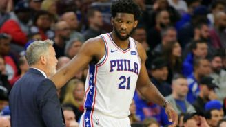 Joel Embiid Really Wants To Go To Space, Even Though NASA Told Him He Won't Fit In Any Spacecraft