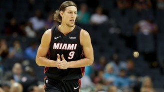 Kelly Olynyk's Putback Of A Dwyane Wade Shot Gave The Heat A Last Second Win In Washington