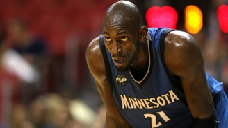 Kevin Garnett Bluntly Calls The Situation In Minnesota A 'Sh*t Storm'
