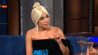 Lady Gaga Fiercely Defended Christine Blasey Ford On 'The Late Show With Stephen Colbert'