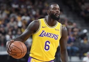 Lance Stephenson's Off-The-Backboard Alley-Oop To Lonzo Ball Capped Off The Lakers First Win