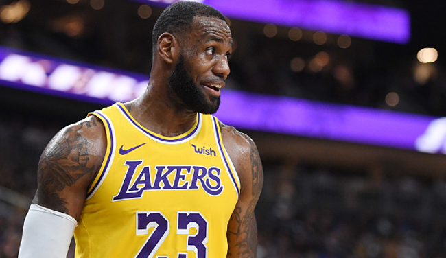 newest 081ad 535b6 LeBron James Wore A Beto O'Rourke Hat To A Lakers Game In ...