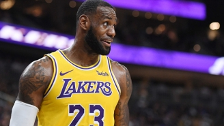 LeBron James Wore A Beto O'Rourke Hat To The Lakers Game In San Antonio