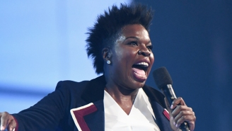 Leslie Jones Was As Baffled As The Rest Of Us While Finally Watching 'The Shape Of Water'